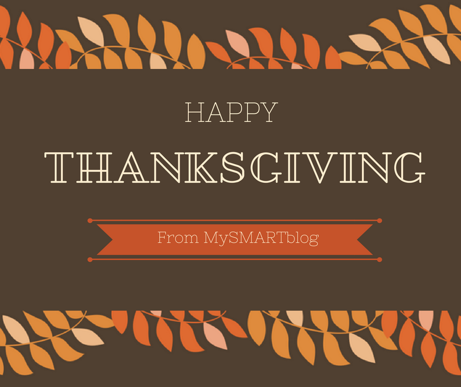 Happy Thanksgiving from MySMARTblog!