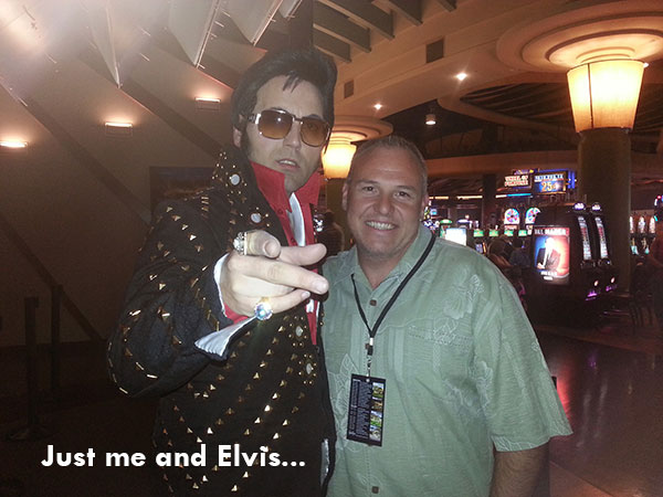 Mikel Erdman meets Elvis!